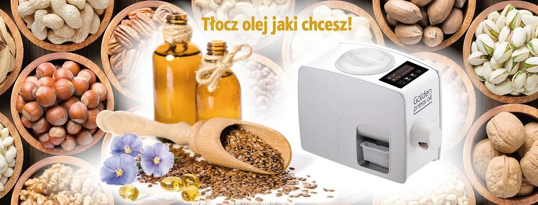 Golden Press Oil - Tłocz olej jaki chcesz!